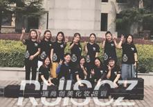 学员实习:为中国农业大学,教师节文艺汇演化妆造型