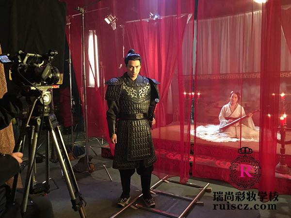 瑞尚彩妆学员实习:古风mv化妆图片