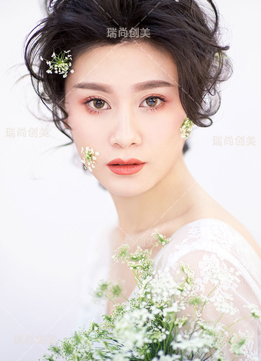 瑞尚创美化妆学校化妆作品