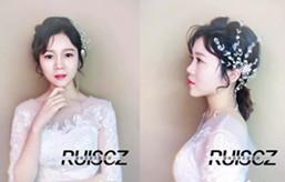 【校园作品】大气优雅的新娘造型,颜值再高也