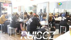 瑞尚创美丰台校区11月学员化妆考核
