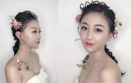 一组精致简约的新娘造型,美得不要不要的!
