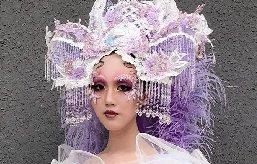 一组创意彩妆造型新鲜出炉,梦幻唯美超惊艳!