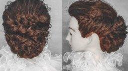 13款经典的编发盘发,化妆师必备!