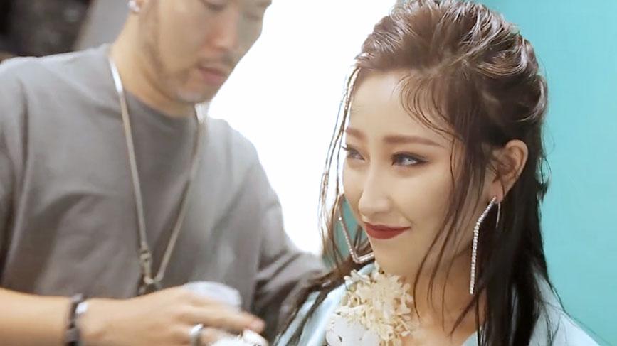 瑞尚创美迟峰老师时尚写真妆容造型