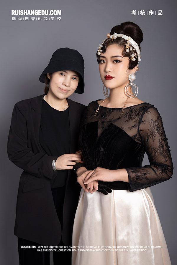 瑞尚创美化妆学校考核作品
