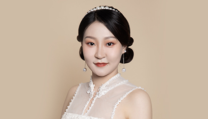 瑞尚创美化妆学校——甜美气质新娘 醉心于轻柔
