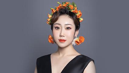 瑞尚创美化妆学校——皓姿芙雪 缀饰简约妙曼的