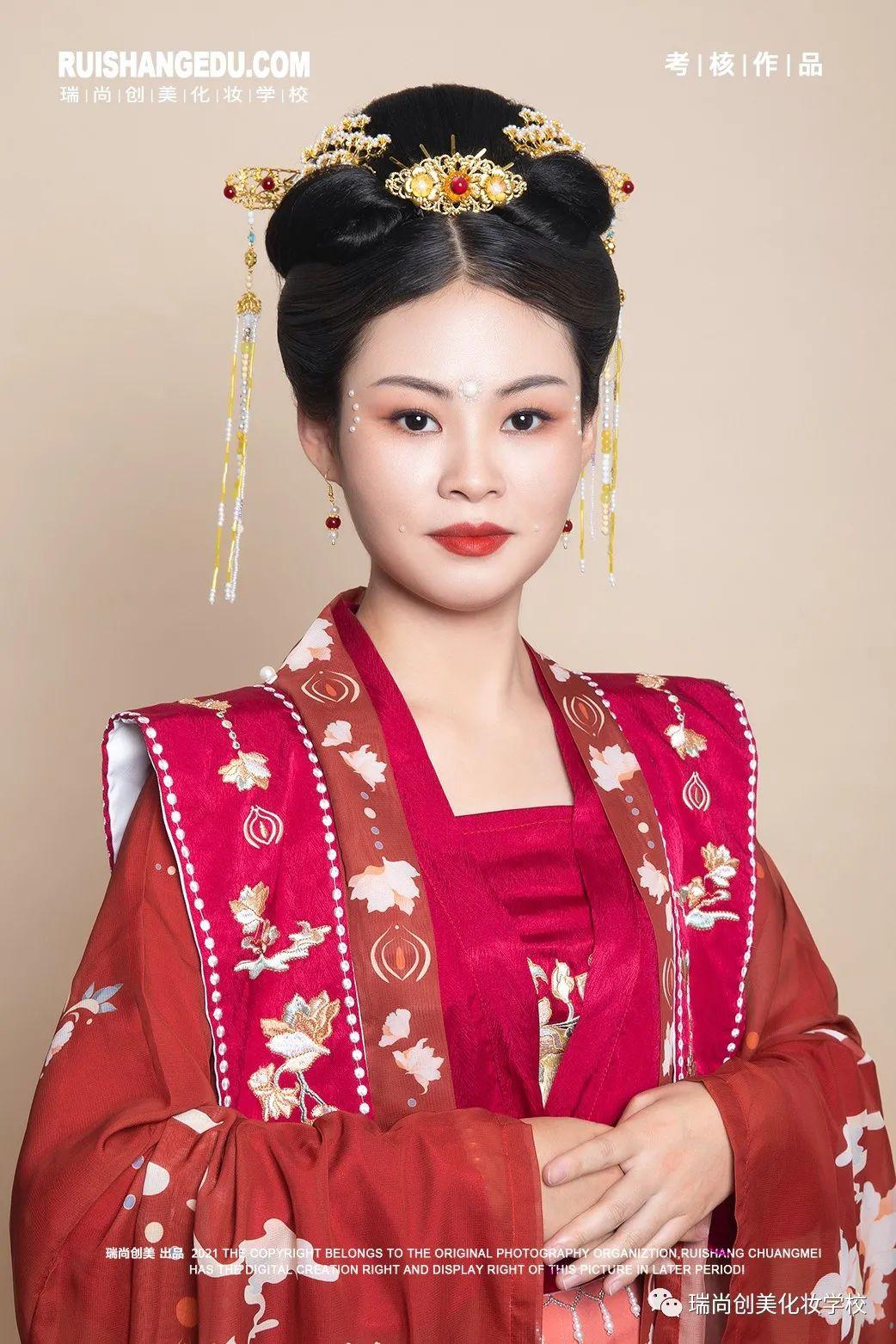 【瑞尚创美化妆学校】红妆描抹·雅韵东方