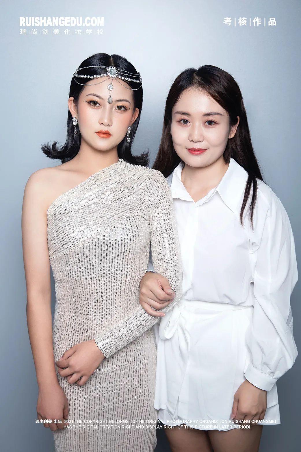 【瑞尚创美化妆学校】缪斯女神 尽显独具魅力的影楼造型