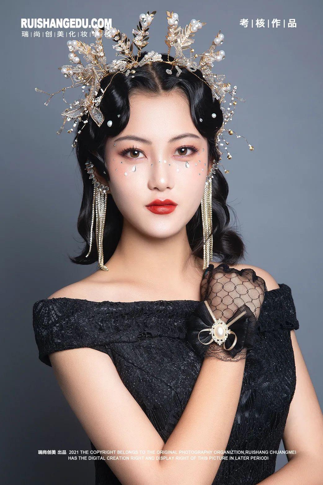 【瑞尚创美化妆学校】气质轻奢影楼造型系列