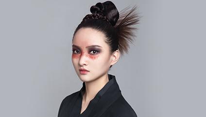 瑞尚创美化妆学校·学员作品  浮煜蒨华 极致赋予独特风格